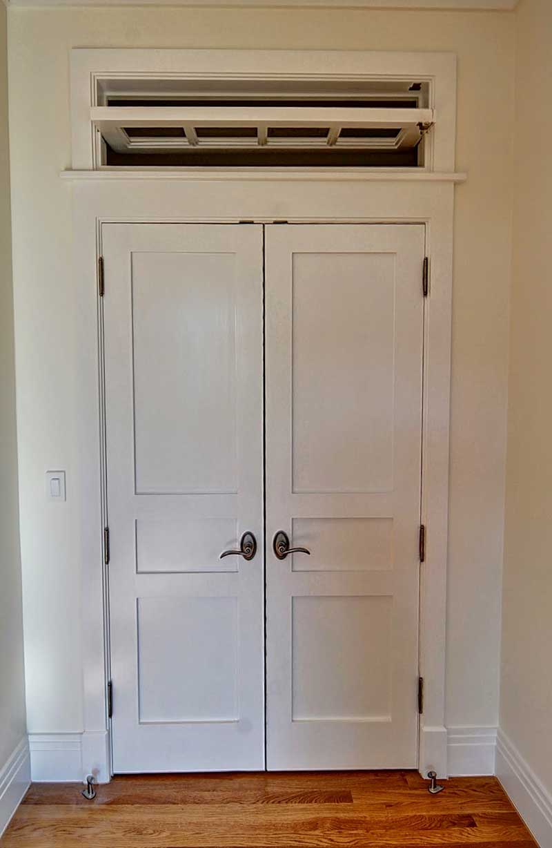 Custom operational door transoms simmons custom for Custom transom