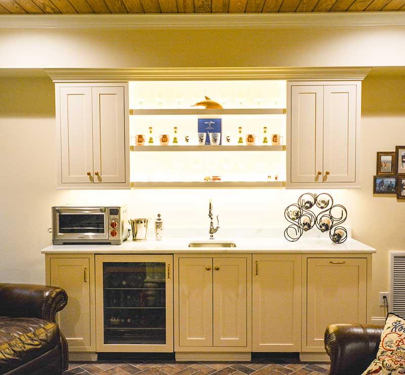 Entertainment Center -Simmons Custom Cabinetry & Millwork
