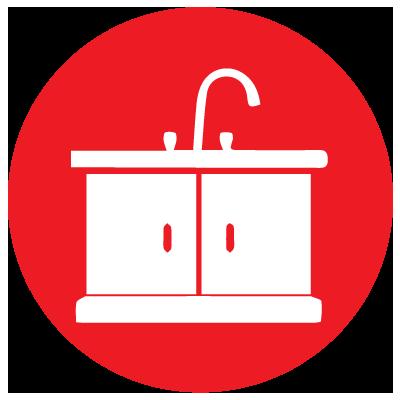 bathroom -Simmons Custom Cabinetry & Millwork Inc.
