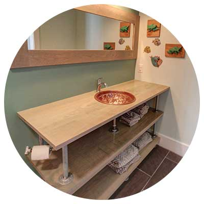 kitchen & baths - Simmons Custom Cabinetry & Millwork Inc.