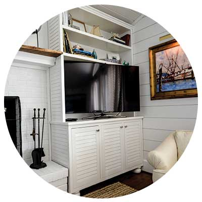 entertainment centers - Simmons Custom Cabinetry & Millwork Inc.
