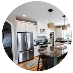 kitchen & bath - Simmons Custom Cabinetry & Millwork Inc.